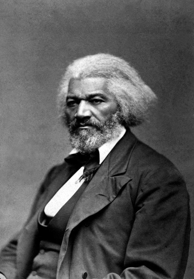 Frederick Douglas circa. 1874